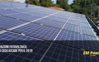 Detrazioni fotovoltaico ecco cosa accade per il 2019